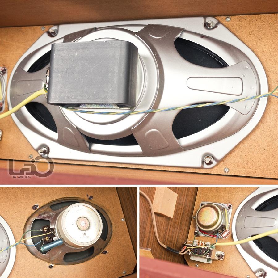 TELEFUNKEN RB46 Hi-Fi Loud Speaker ◇ テレフンケン 3ウェイ3スピーカー ◇15