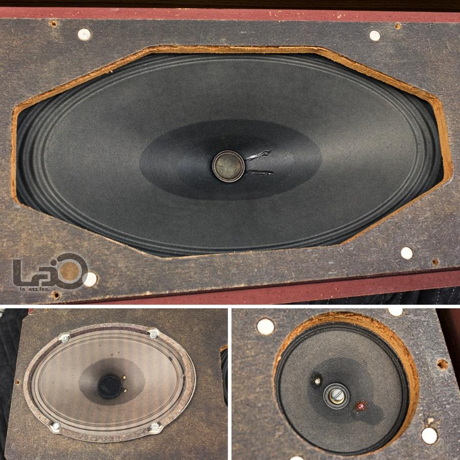 TELEFUNKEN RB46 Hi-Fi Loud Speaker ◇ テレフンケン 3ウェイ3スピーカー ◇17
