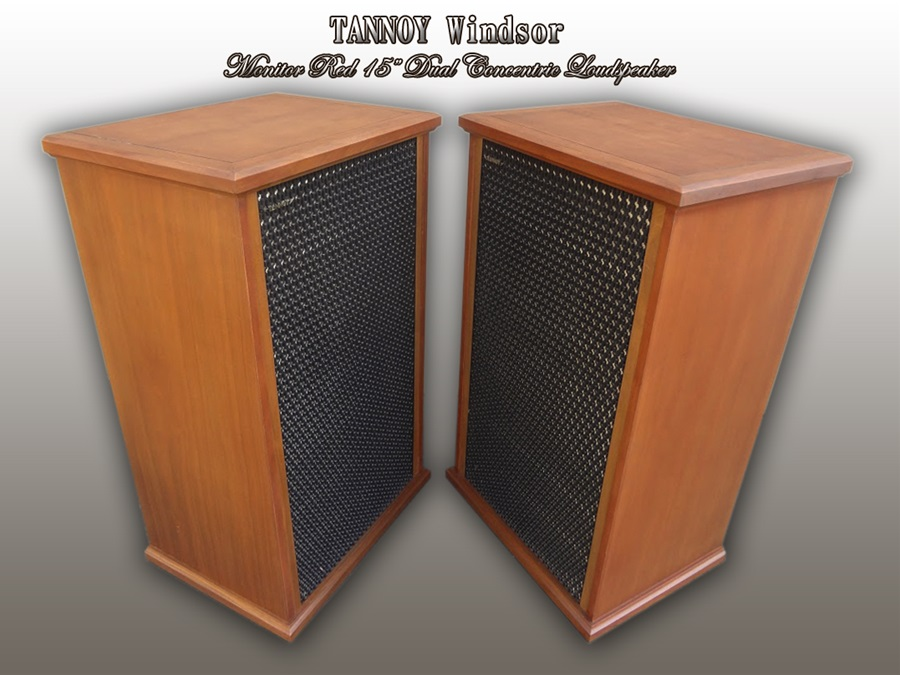 TANNOY WINDSOR ◇ タンノイ ウィンザー 「モニター RED」 15インチ同軸2way SP ◇