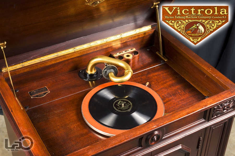 VITROLA CREDENZA PHONOGRAPH ◇ ビクター ビクトローラ・クレデンザ 蓄音器 ◇