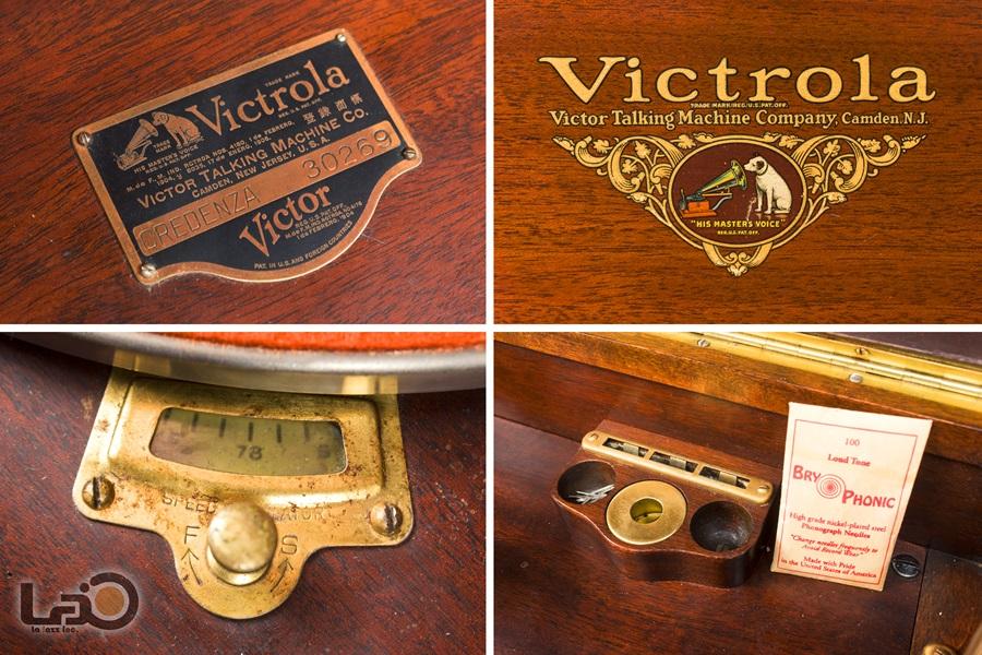 VITROLA CREDENZA PHONOGRAPH ◇ ビクター ビクトローラ・クレデンザ 蓄音器 ◇32