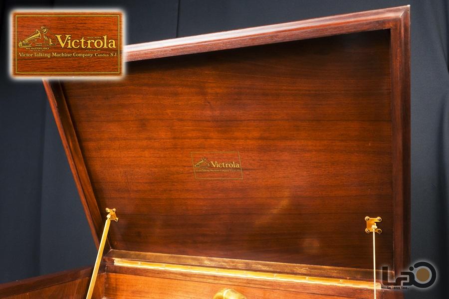 VITROLA CREDENZA PHONOGRAPH ◇ ビクター クレデンザ 蓄音器 2枚扉式 ◇5
