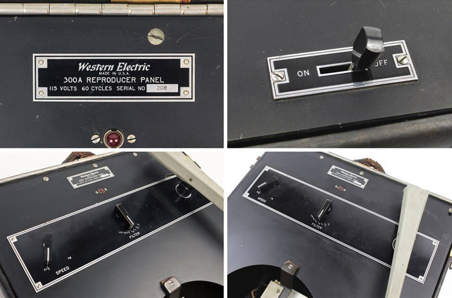 Western Electric 300-A Reproducer Set Turntable ◇ ウェスタン ターンテーブル ◇8