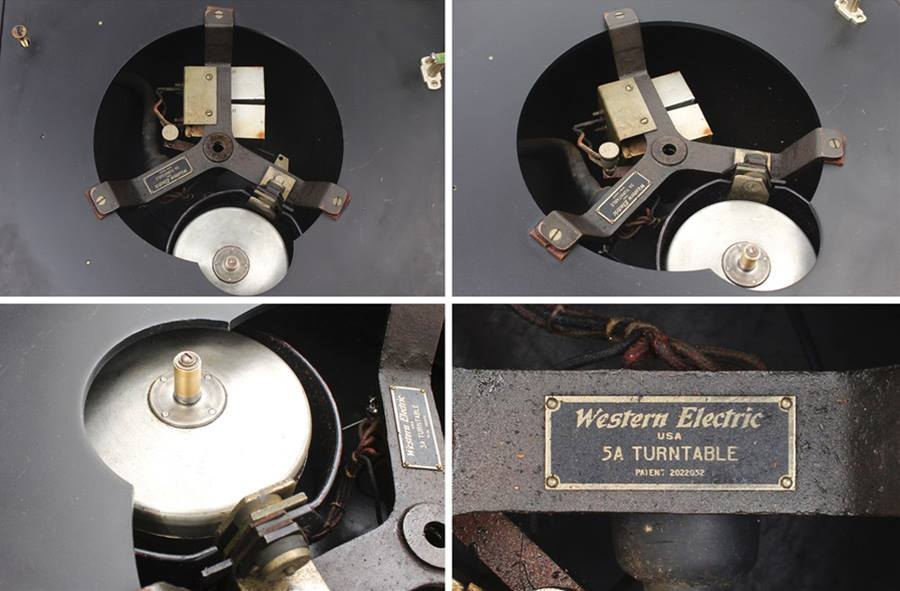 Western Electric 300-A Reproducer Set Turntable ◇ ウェスタン ターンテーブル ◇14