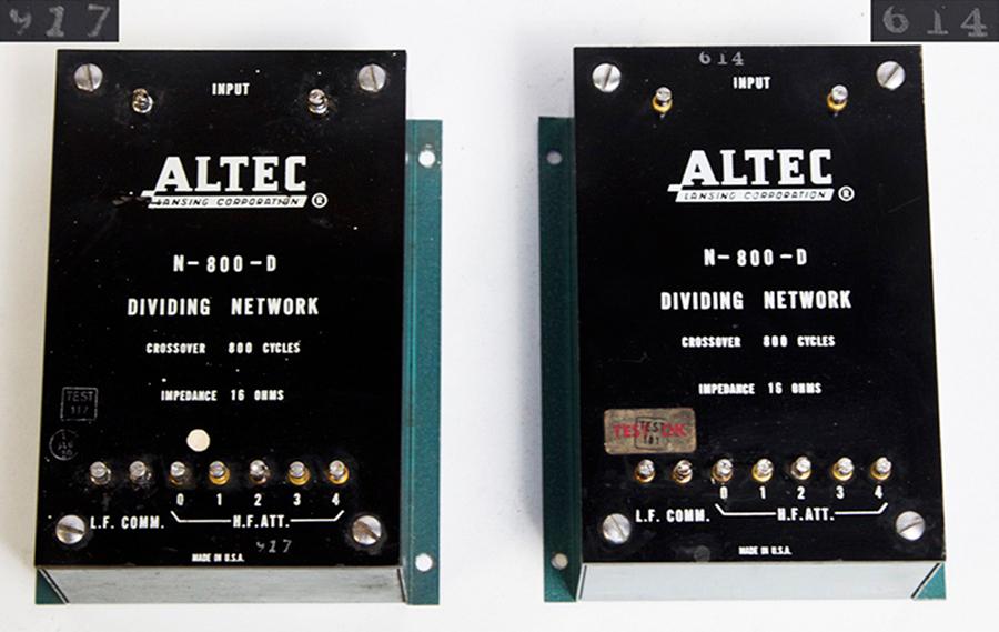 ALTEC 820A ICONIC ◇ アイコニック 803B + 802C ペア ◇31