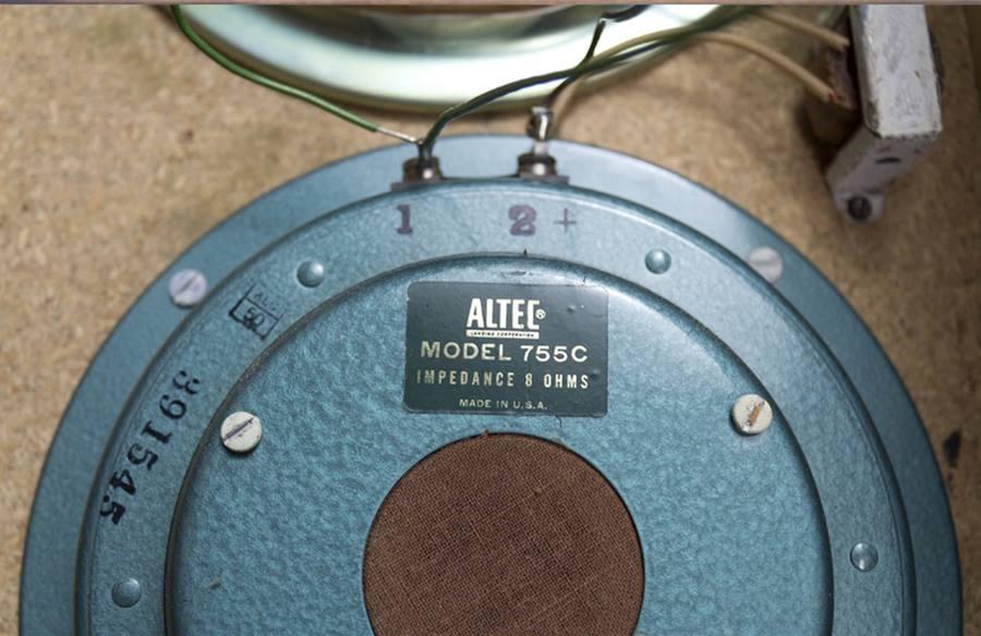 ALTEC 836A LIDO ◇ アルテック リド フルレンジ ペア ◇11