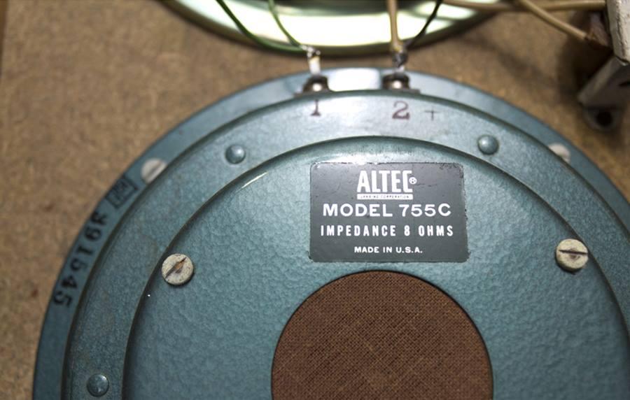 ALTEC 836A LIDO ◇ アルテック リド フルレンジ ペア ◇17
