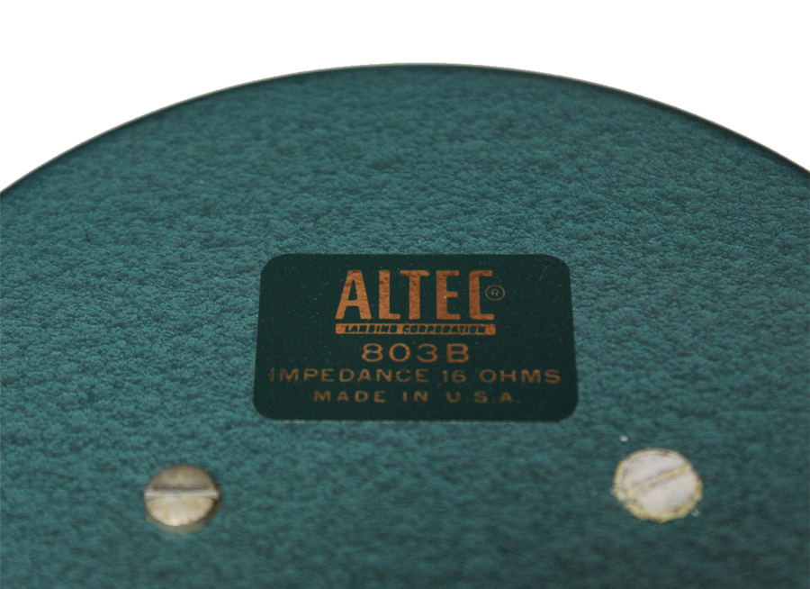 ALTEC A7 Voice of the Theater ◇ アルテック A7 + フルウイング 16Ω ◇11