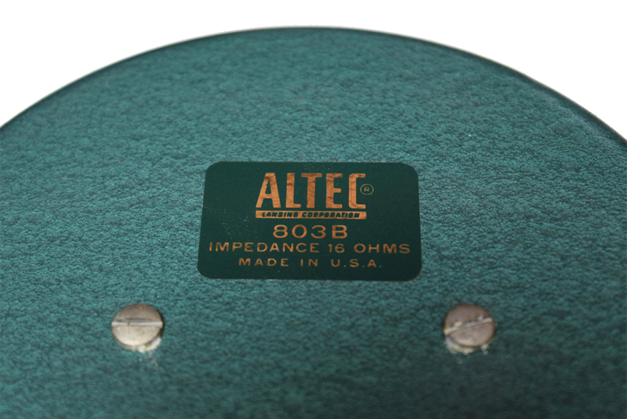 ALTEC A7 Voice of the Theater ◇ アルテック A7 + フルウイング 16Ω ◇14