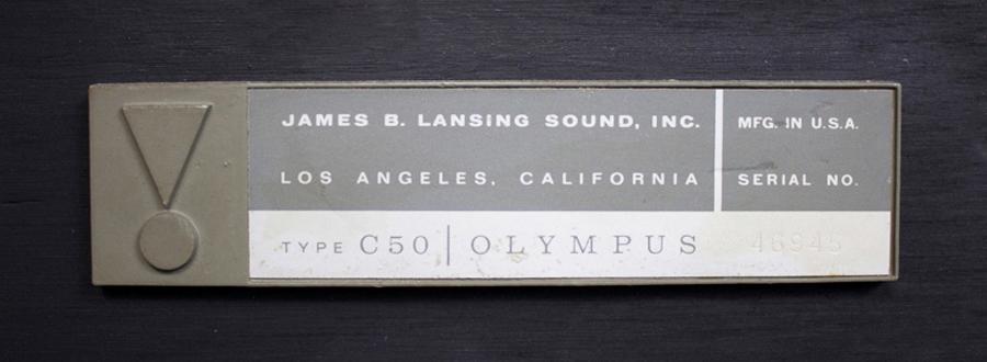 JBL C50 OLYMPUS ◇ オリンパス スピーカー ペア ◇14