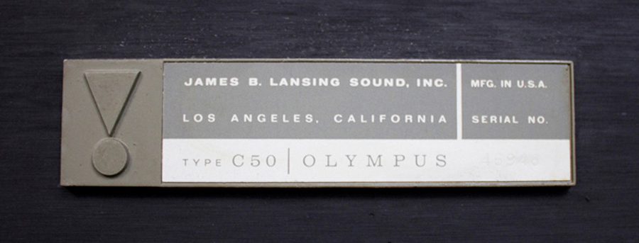 JBL C50 OLYMPUS ◇ オリンパス スピーカー ペア ◇17