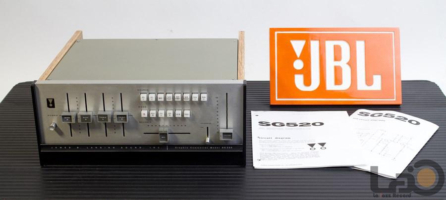 JBL SG520E ◇ 初期型モデル トランジスタ・ステレオ・プリアンプ ◇18