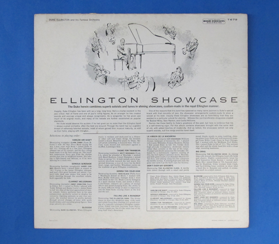 ◆DUKE ELLINGTON/JIMMY WOOD他◆CAPITOL 米深溝 MONOターコイズ2