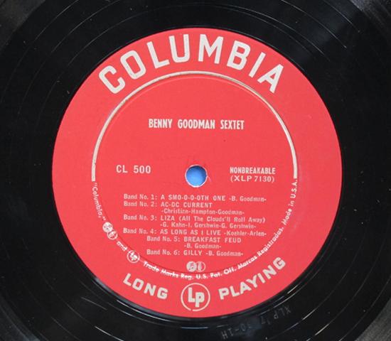 ◆BENNY GOODMAN COMBOS◆ COLUMBIA 米深溝 重量3