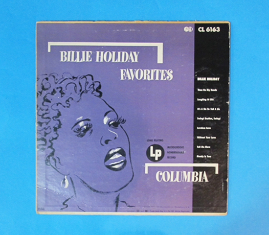 価格応談◆BILLIE HOLIDAY FAVORITES◆COLUMBIA 米深溝