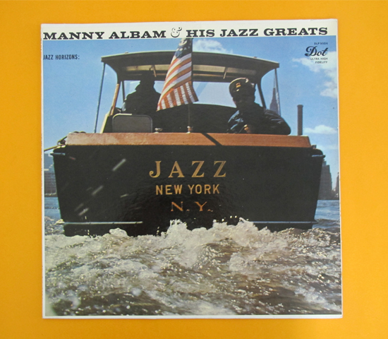 価格応談◆MANNY ALBAM/JAZZ NEW YORK ◆DOT 米 深溝