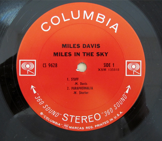 価格応談◆MILES DAVIS/MILES IN THE SKY ◆米 2EYES3