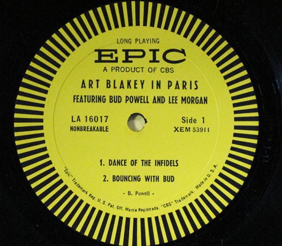 価格応談◆ART BLAKEY & BUD POWELL 他◆EPIC 米深溝3
