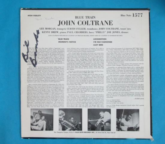 価格応談◆JOHN COLTRANE◆BLUENOTE 1577 米深溝 耳 両面RVG2