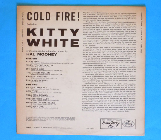 ◆KITTY WHITE/COLD FIRE◆EMARCY 米!深溝2