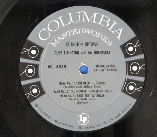 ◆DUKE ELLINGTON/ELLINGTON UPTOWN◆6EYES 米深溝3