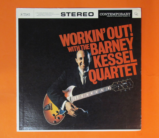 価格応談◆BARNEY KESSEL QUARTET◆CONTEMPORARY 米深溝