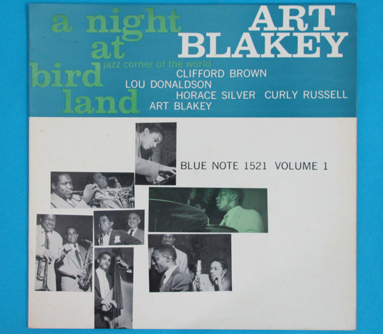 ◆ART BLAKEY&CLIFFORD BROWN 他◆BLUE NOTE 米深溝 手書きRVG耳