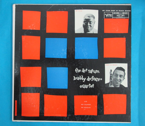 ◆ART TATUM/BUDDY DEFRANCO◆VERVE トランペット 米深溝