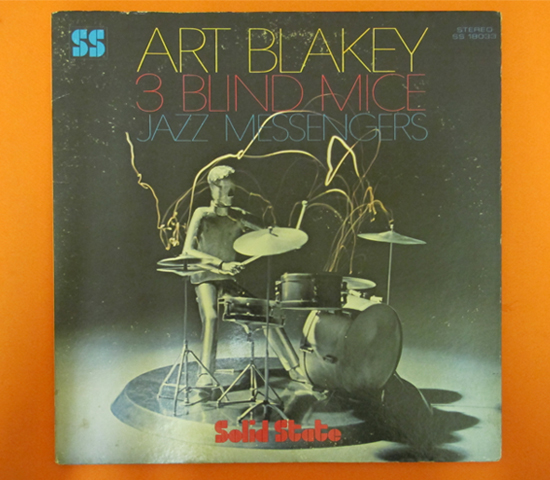 価格応談◆ART BLAKEY/3BLIND MICE◆ SOLID STATE 米2