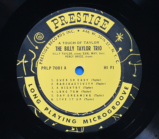 ◆BILLY TAYLOR & EARL MAY 他◆PRESTIGE 米深溝 50th NYC3