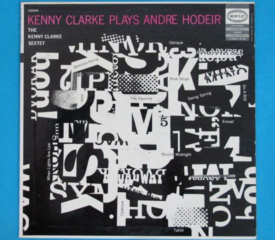 価格応談◆KENNY CLARKE PLAYS ANDRE HODEIR◆EPIC 米深溝