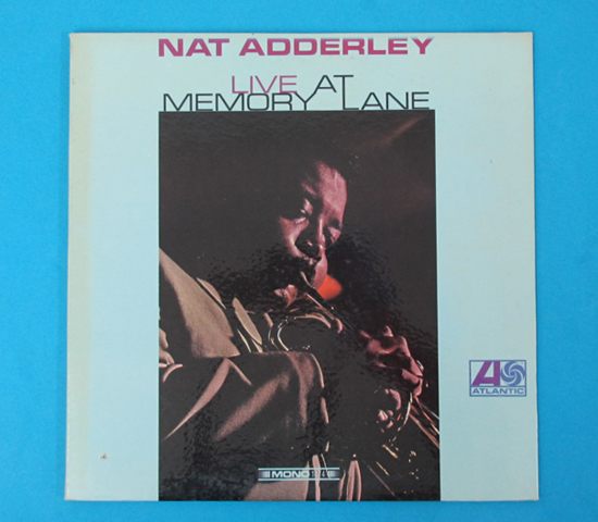 価格応談◆NAT ADDERLEY◆ATLANTIC RECORDS 米深溝 MONO 見開き
