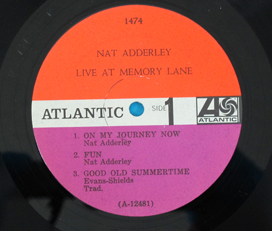 価格応談◆NAT ADDERLEY◆ATLANTIC RECORDS 米深溝 MONO 見開き3