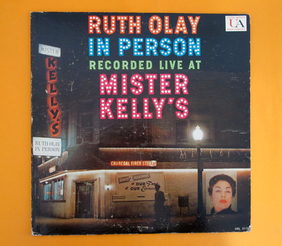 価格応談◆RUTH OLAY ◆UNITED ARTISTS 米 深溝
