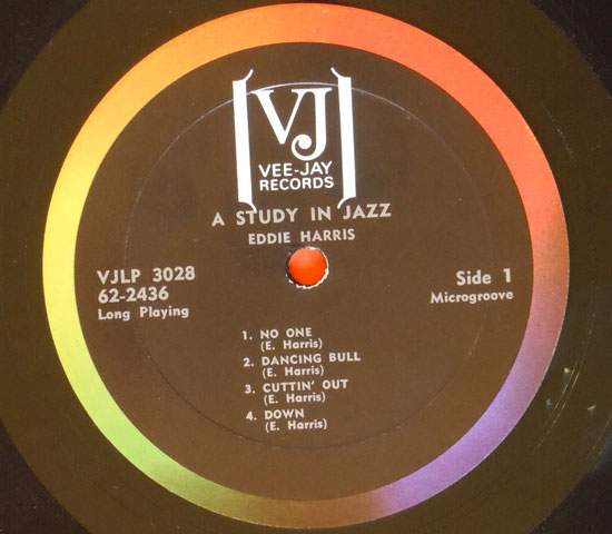 ◆HARRIS/A STUDY IN JAZZ VEE&JAY◆米盤3