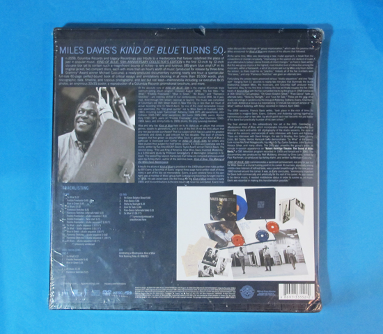 価格応談◆MILES DAVIS KIND OF BLUE 50TH◆ COLUMBIA RECORDS2