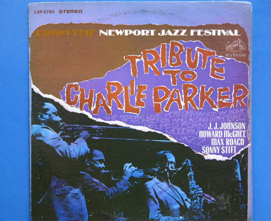 ◆TRIBUTE TO CHARLIE PARKER◆ RCA VICTOR 米深溝