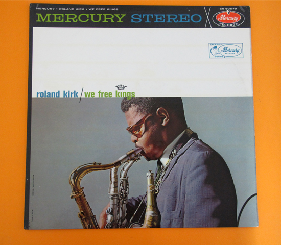価格応談◆ROLAND KIRK/HANK JONES◆ MERCURY 米 深溝