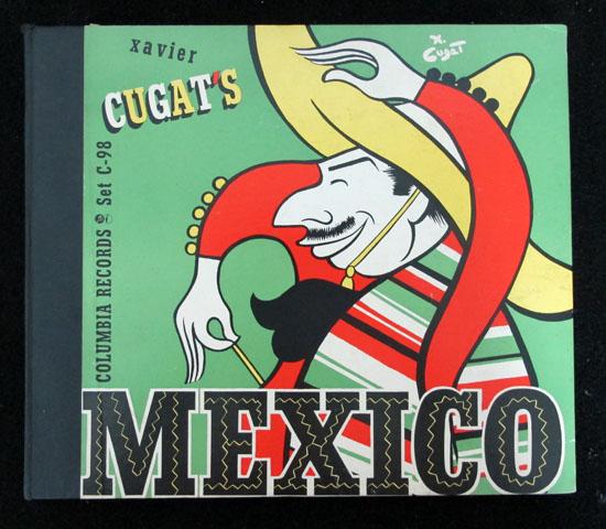 価格応談 ◆SP盤 ◆4枚組 ◆XAVIER CUGAT/MEXICO ◆C0LUMBIA 米