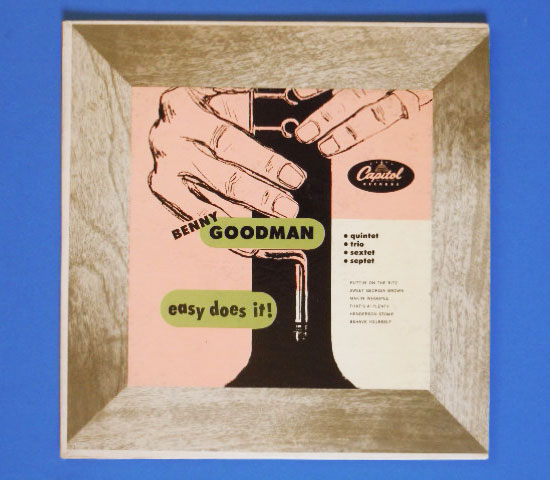 ◆10インチ◆BENNY GOODMAN/EASY DOES IT!◆CAPITOL 米!深溝
