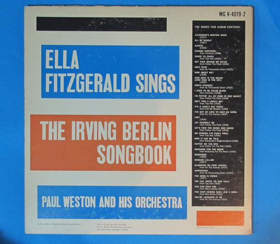 価格応談◆2枚組◆ELLA FITZGERALD SINGS…◆VERVE 米深溝2