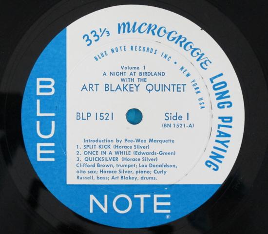価格応談◆ART BLAKEY…他◆BLUE NOTE 米深溝 RVG手書き 重量3