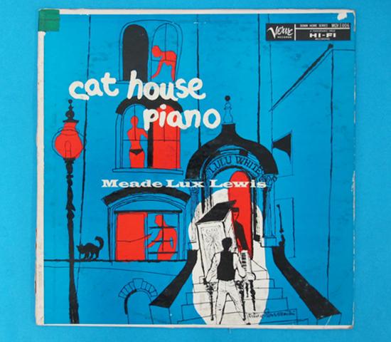価格応談◆MEADE LUX LEWIS/CAT HOUSE…◆VERVE 米深溝
