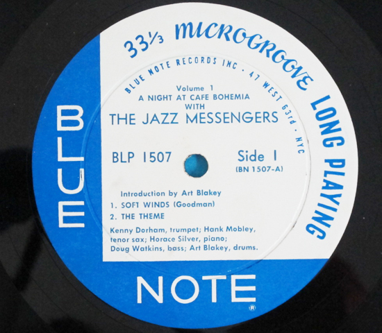 ◆HORACE SILVER&HANK MOBLEY 他◆BLUE NOTE 63rd 米深溝3