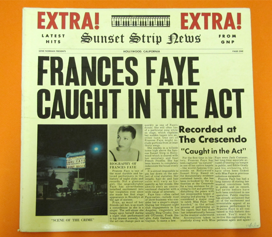 価格応談◆FRANCES FAYE/CAUGHT IN THE ACT◆ GNP 米深溝