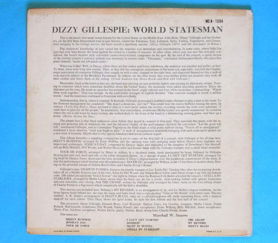 ◆DIZZY GILLESPIE/WORLD…..◆NORGRAN 米!深溝 トランペット 即決価格2