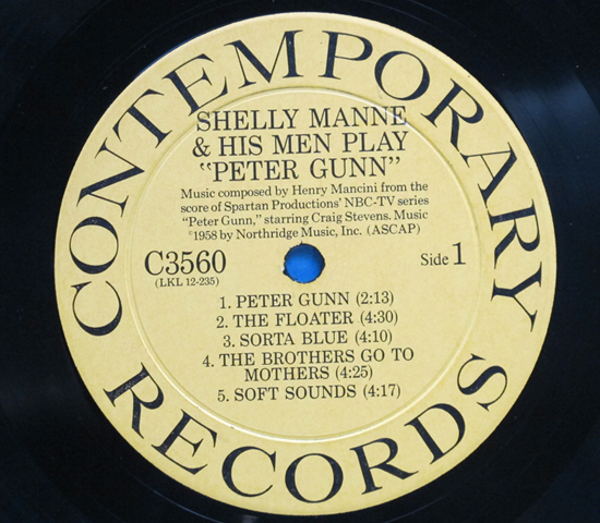 ◆SHELLY MANNE & RUSS FREEMAN 他◆CONTEMPORARY 米深溝3