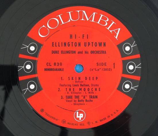 価格応談◆DUKE ELLINGTON & LOUIS BELLSON他◆6EYES 米深溝3