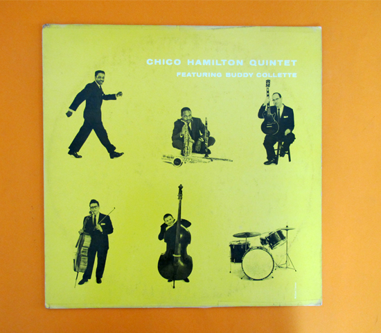 価格応談◆CHICO HAMILTON ◆PACIFIC JAZZ 米 深溝