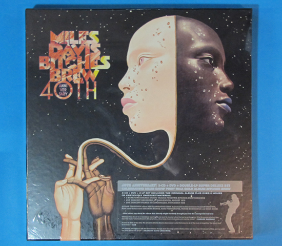 新品未開封◆MILES DAVIS BITCHES BREW 40TH◆COLUMBIA RECORDS